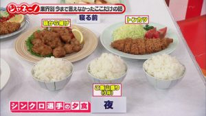 太る食事量
